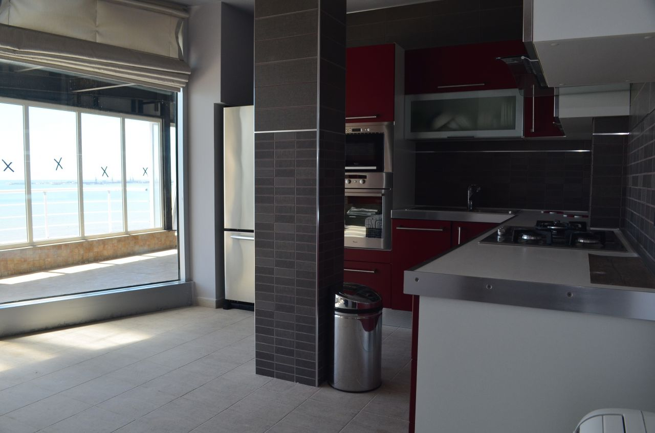 Penthouse for Sale in Durres. Apartments in Albania