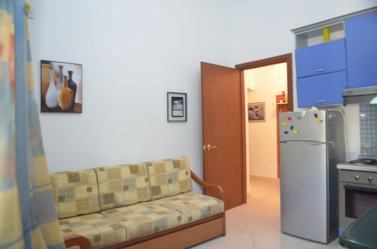 Albania Real Estate in Durres. One Bedroom Apartment Next to Sandy Beach