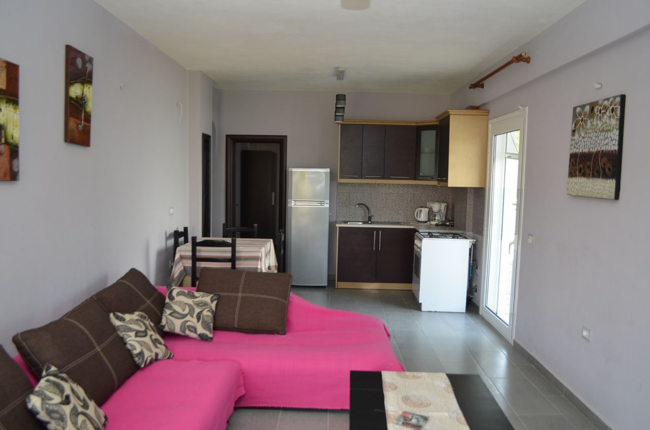 A very comfortable Holiday Apartment for Rent in Ksamil a beautiful albanian village in the seashore of the Ionian Sea.