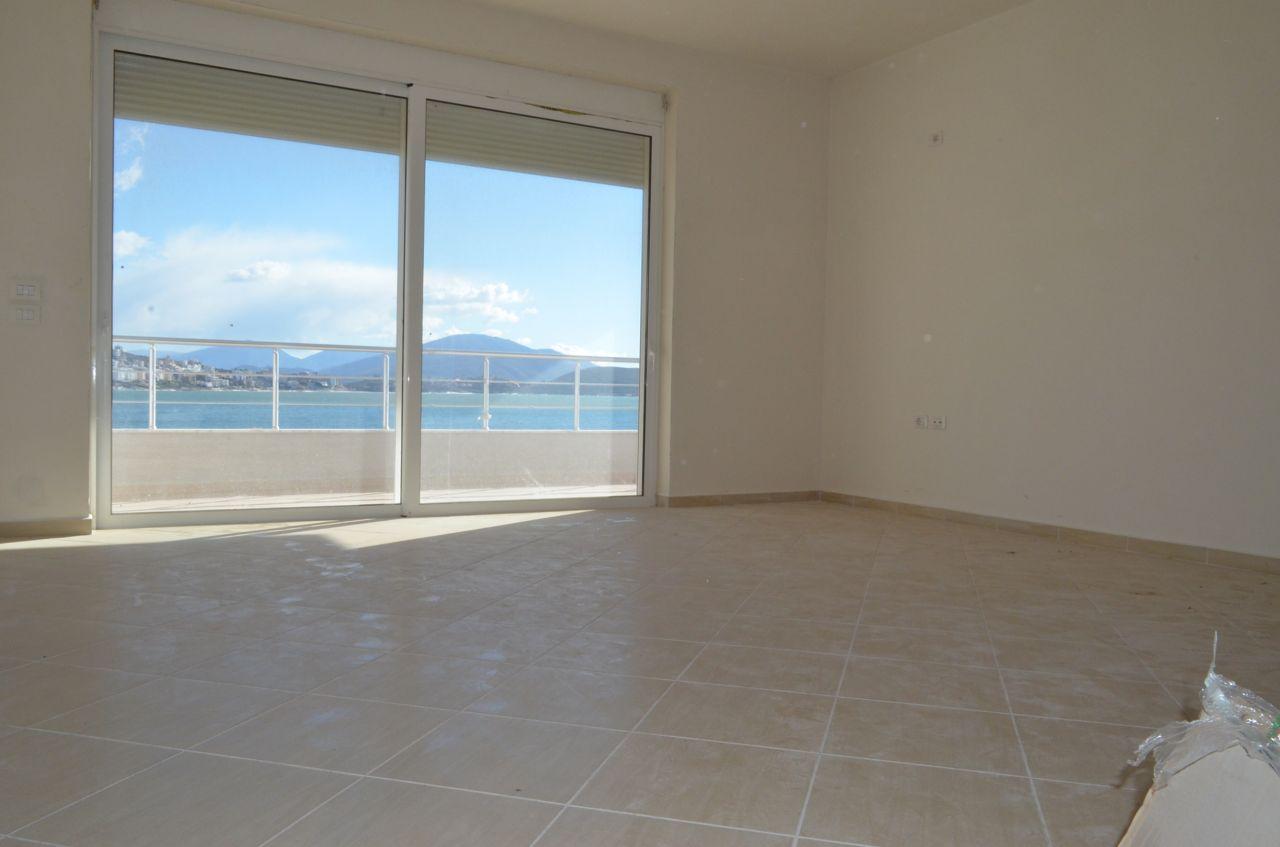 Appartamento molto vicino al mare Ionio in vendita, situato nella citta di Saranda in Albania.