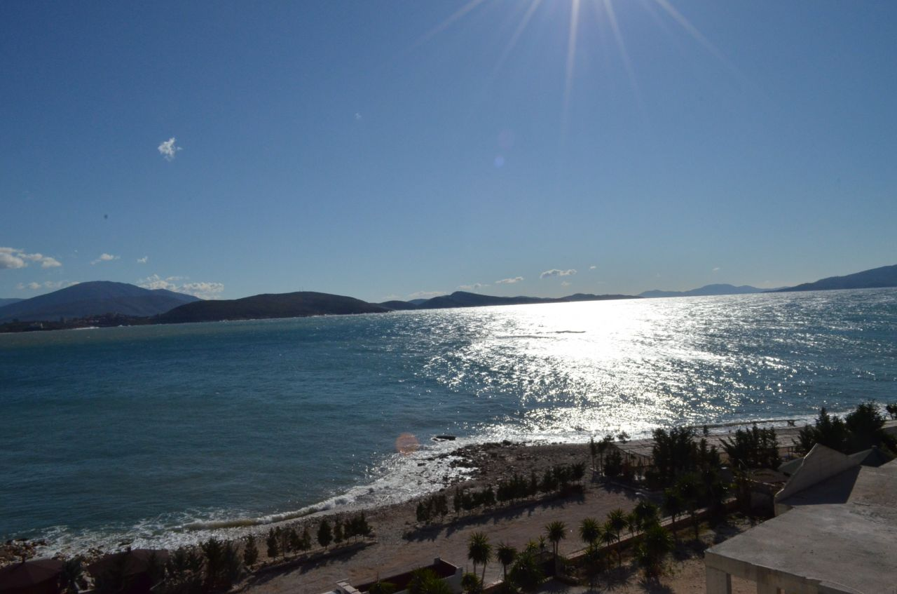 Apartments in Sarande, Albania, with a very beautiful view from the sea.