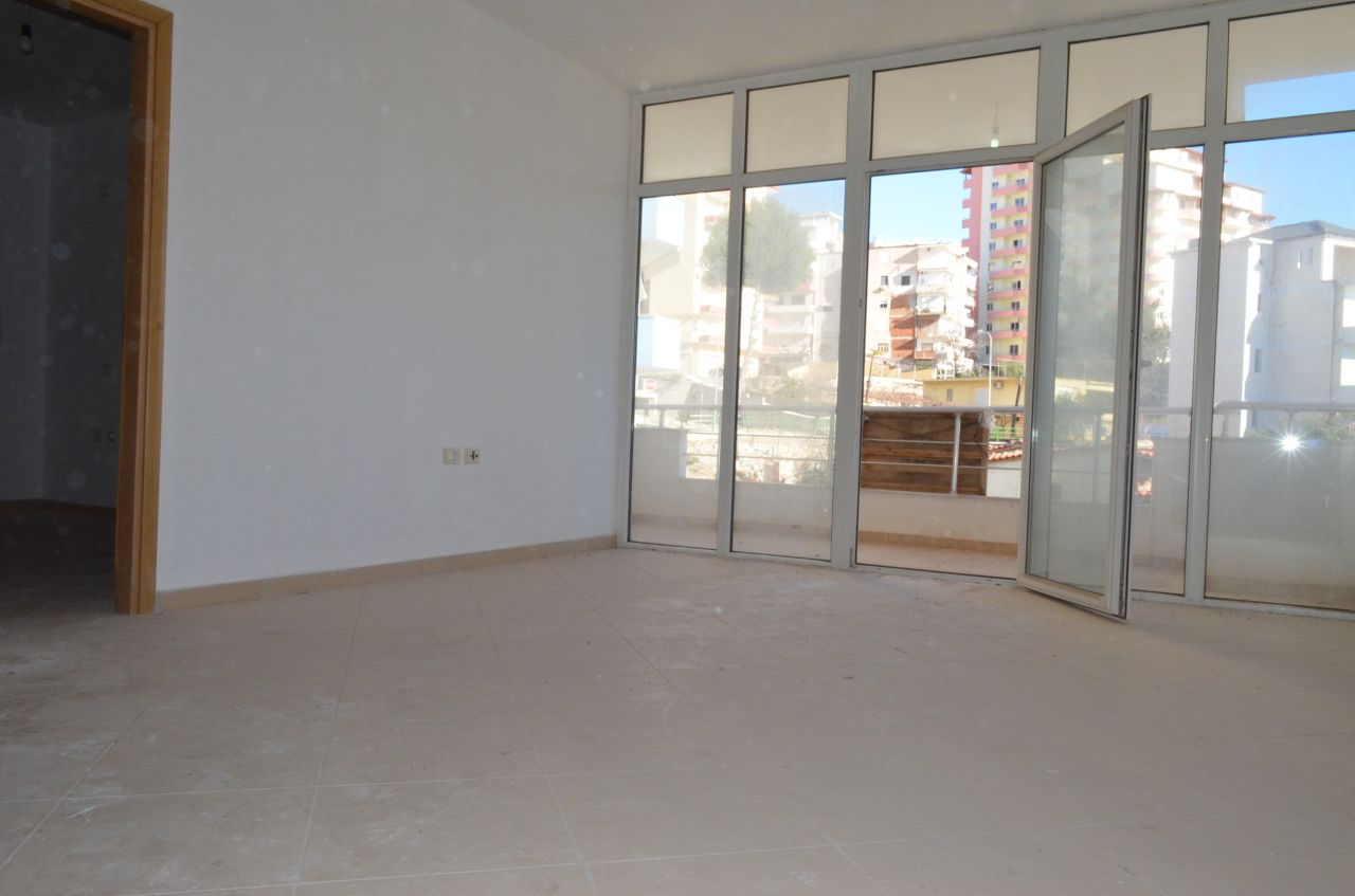 Albán ingatlan Saranda-ban. Tengerparti Apartmanok Eladók Saranda-ban