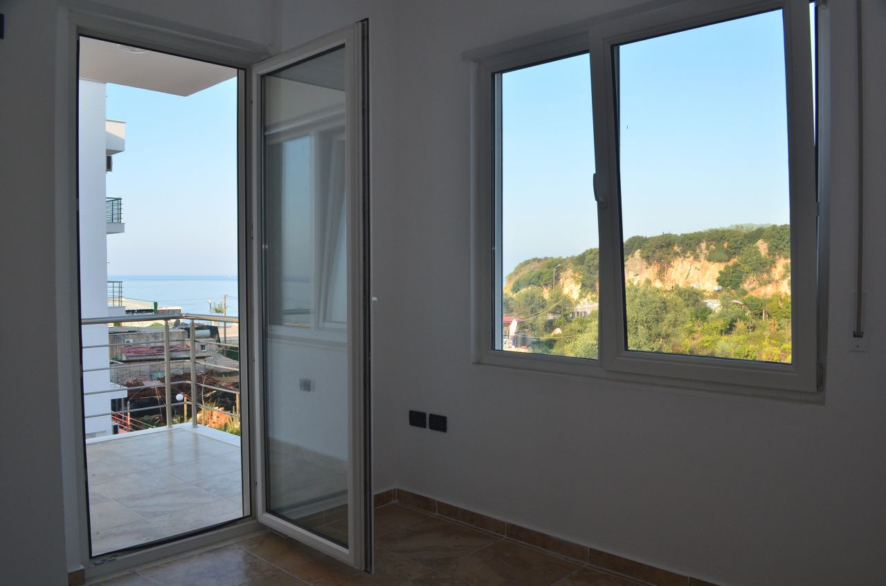 Very nice apartment for sale located in a very nice and good quality construction residence in Himara.
