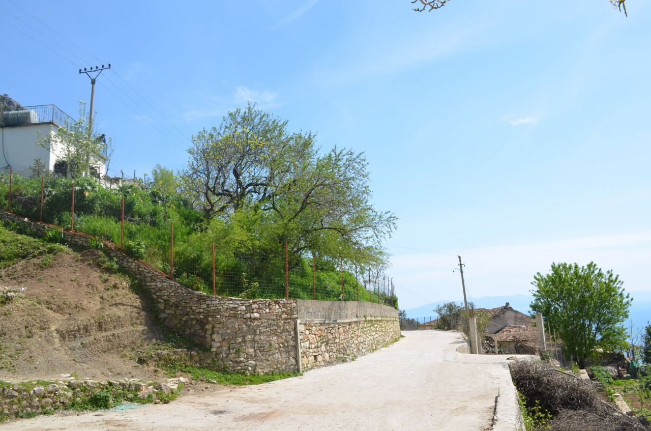 Old Albania Estate. House for Sale in Qeparo Village. Albania Estate Riviera