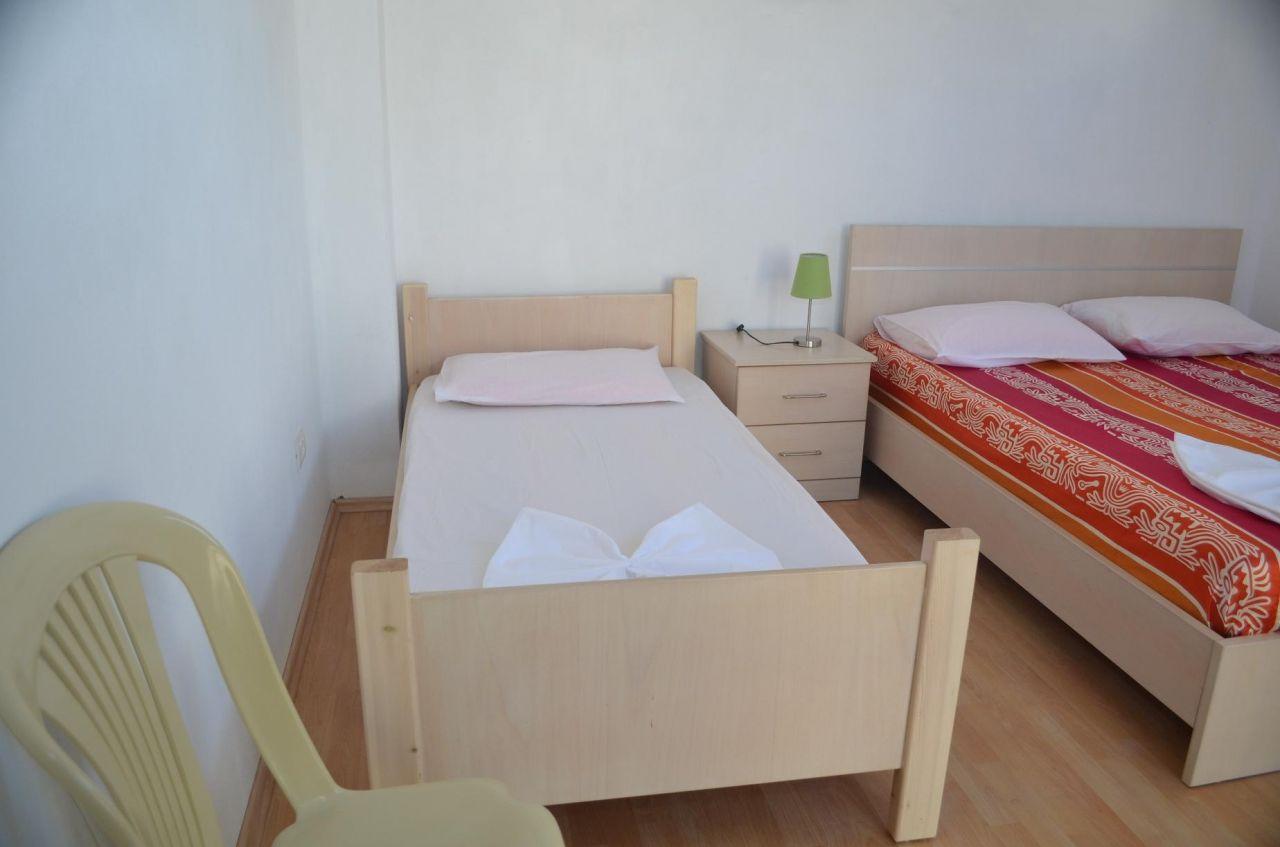 Апартаменты для отдыха в Борщ, Саранда.