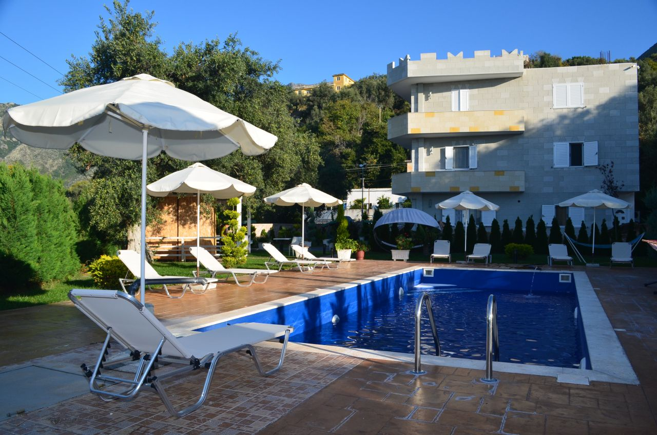 Holiday Villa for rent with Pool in Borsh, Albania Riviera