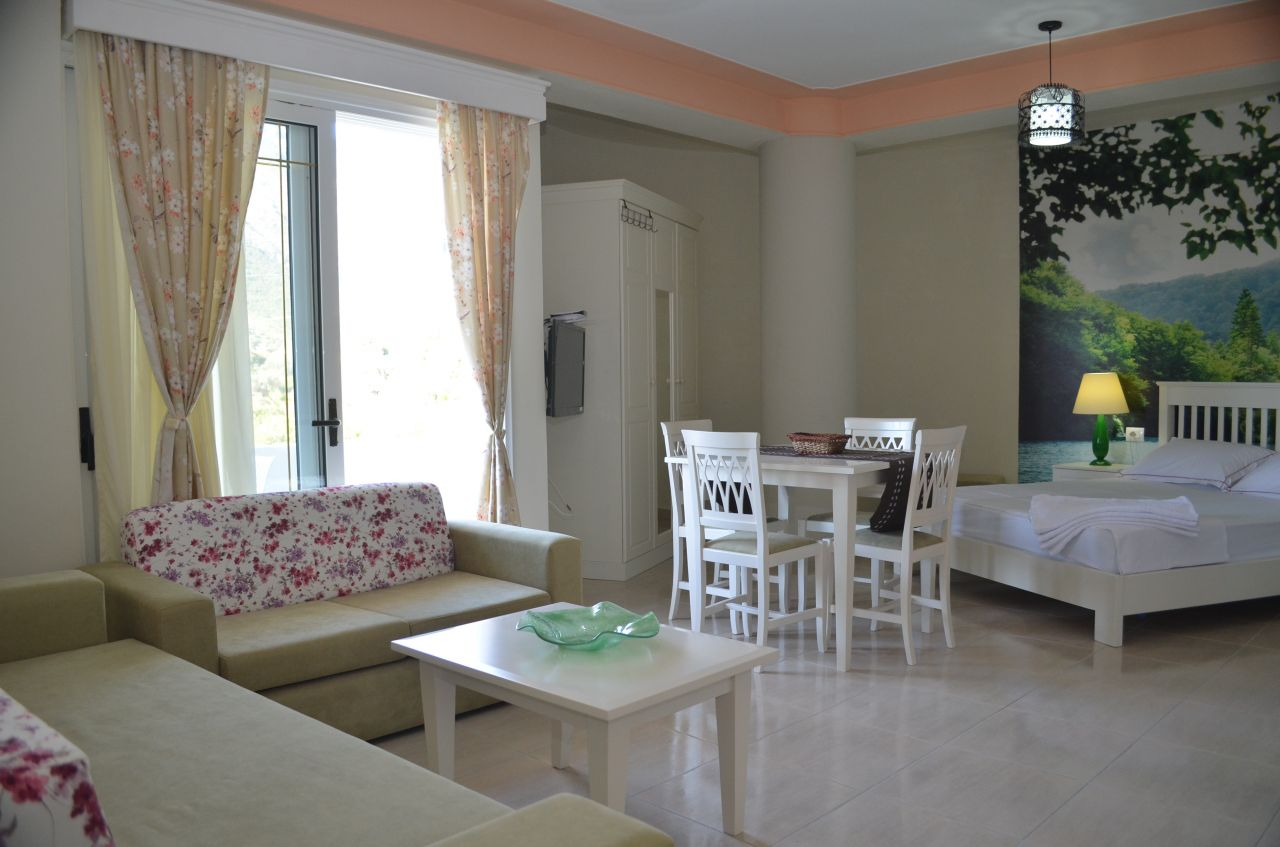Holiday Villa Apartments for rent with pool in Borsh, Saranda, Albania