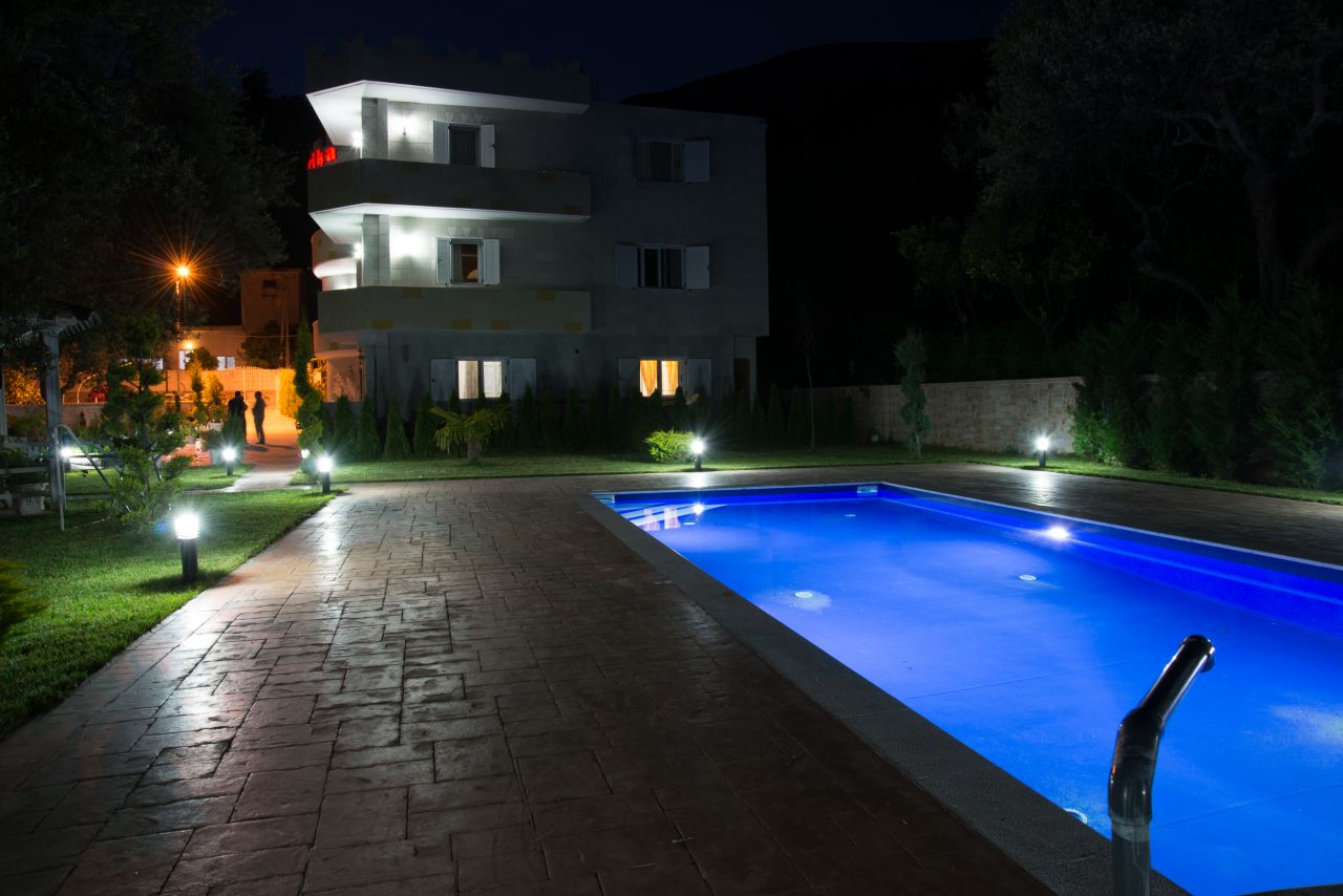 Holiday Villa Apartements with pool in Borsh, Saranda, Albania