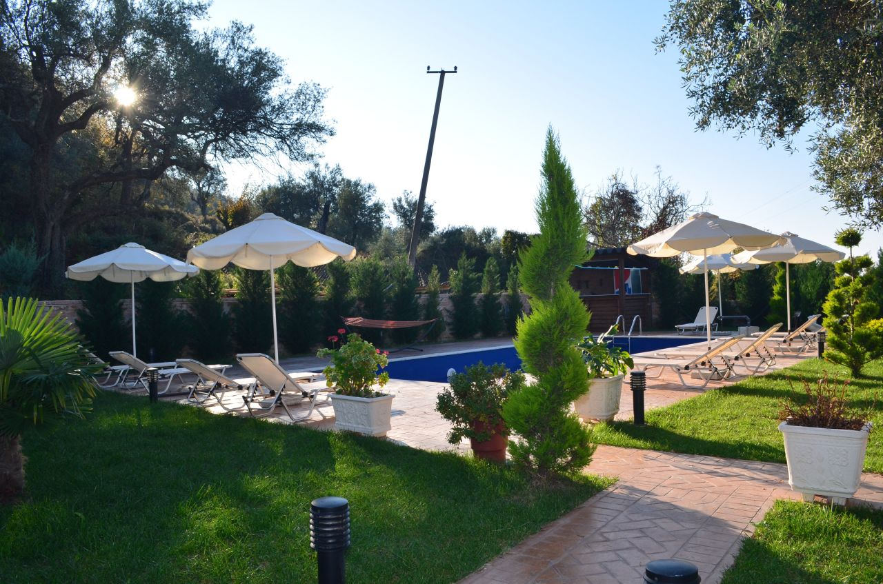 Holiday Villa with Pool for Rent in Borsh, Saranda, Albania