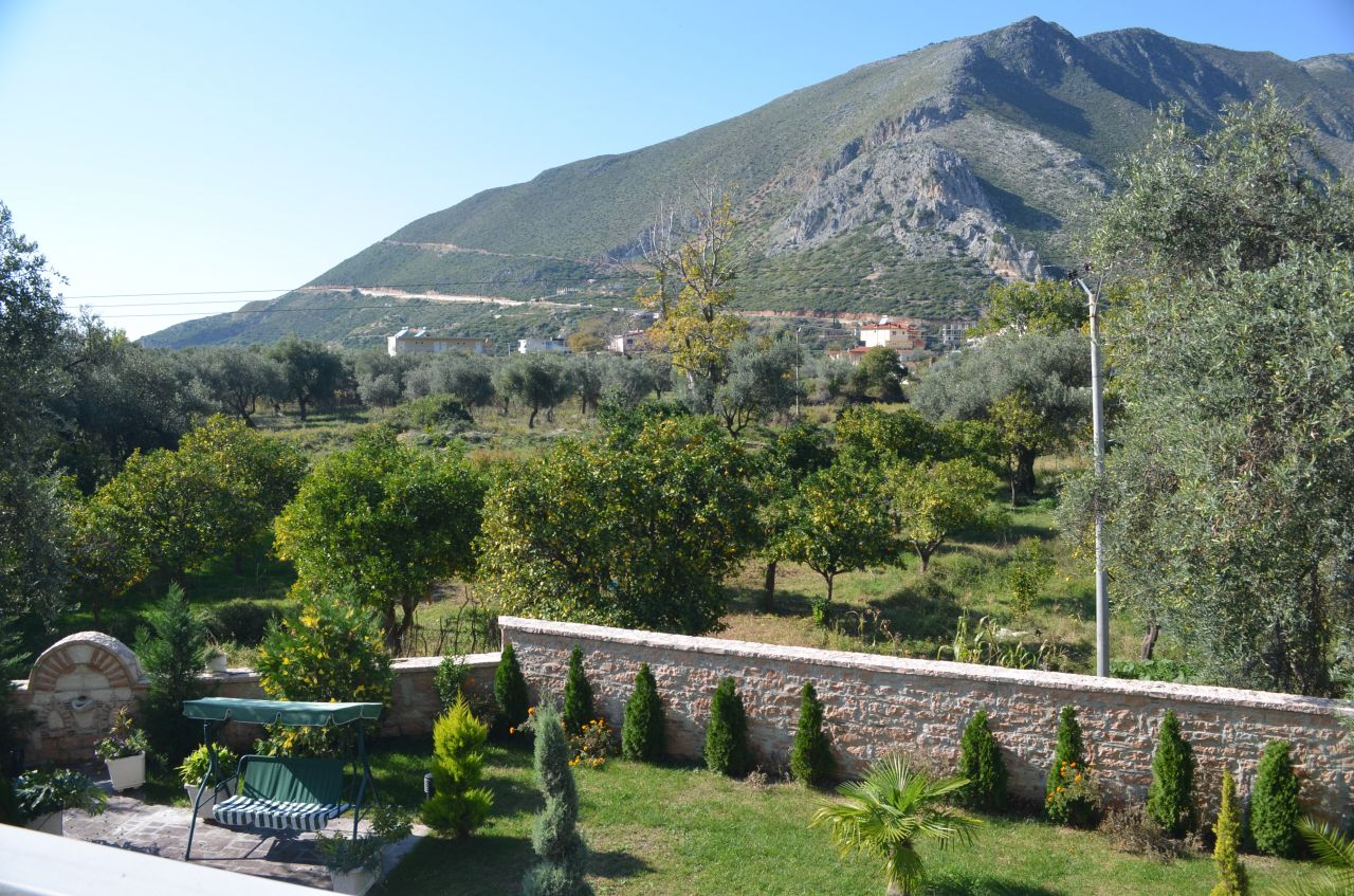 holiday apartments in villa with swimign pool in borsh albania riviera