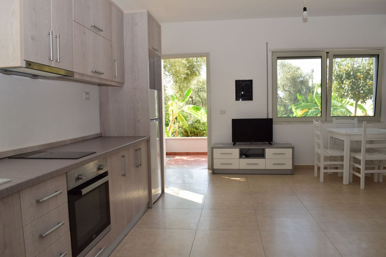 Vacation Apartment For Rent In Dhermi