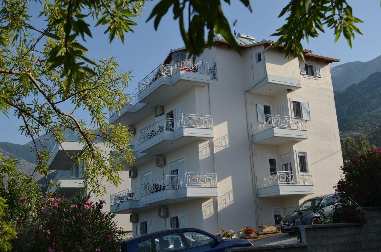 Nyaraló apartmanok Albániában, Dhermi-ben. Kiadó nyaraló apartmanok Dhermi-ben – Apartman kiadó  39 m²