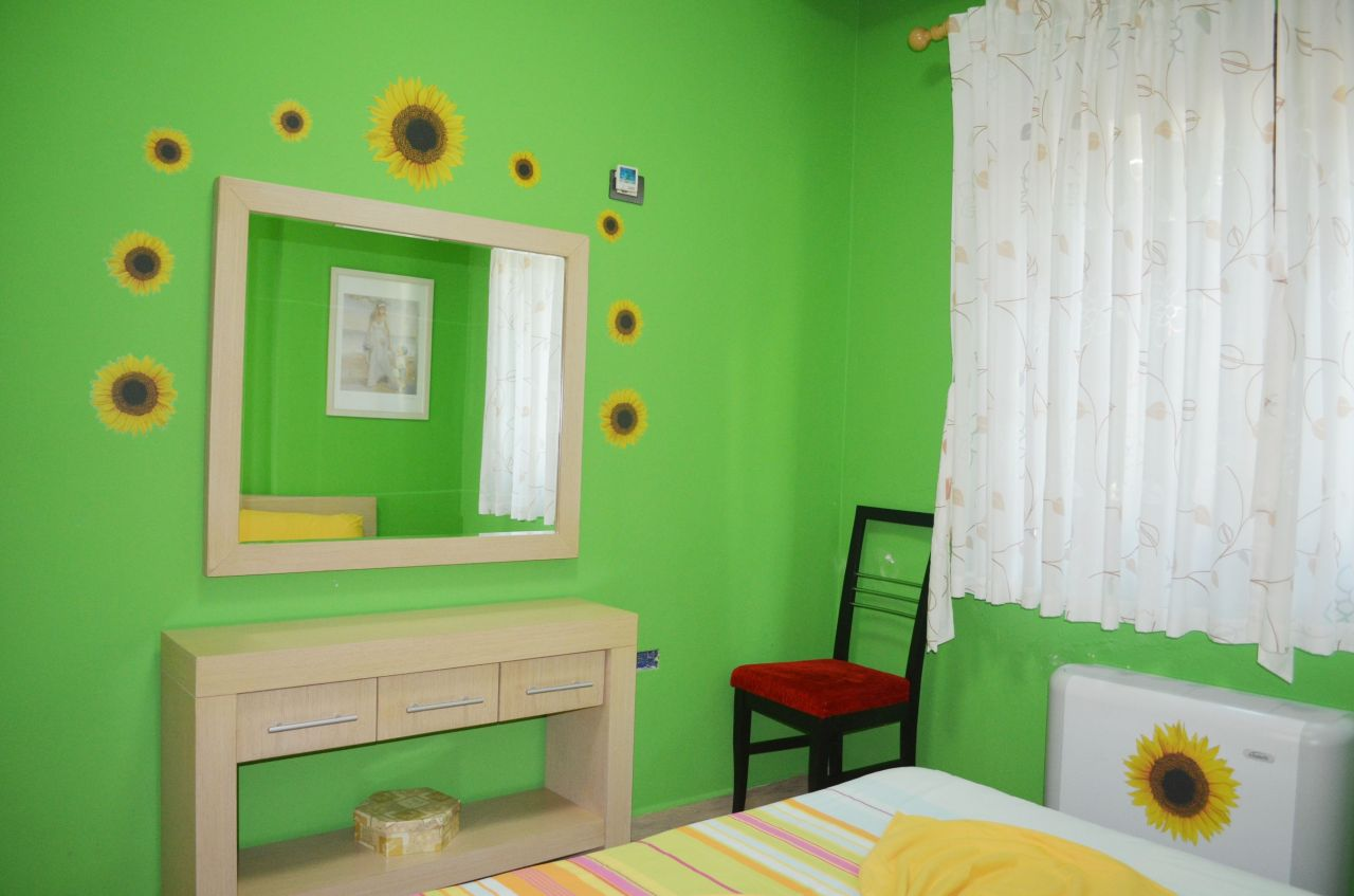 Holiday Apartment for Rent with two bedrooms, in Dhermi, Albania Riviera