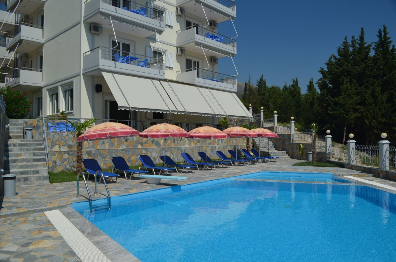 Holiday Hotel with Swimming Pool in Dhermi, Albania