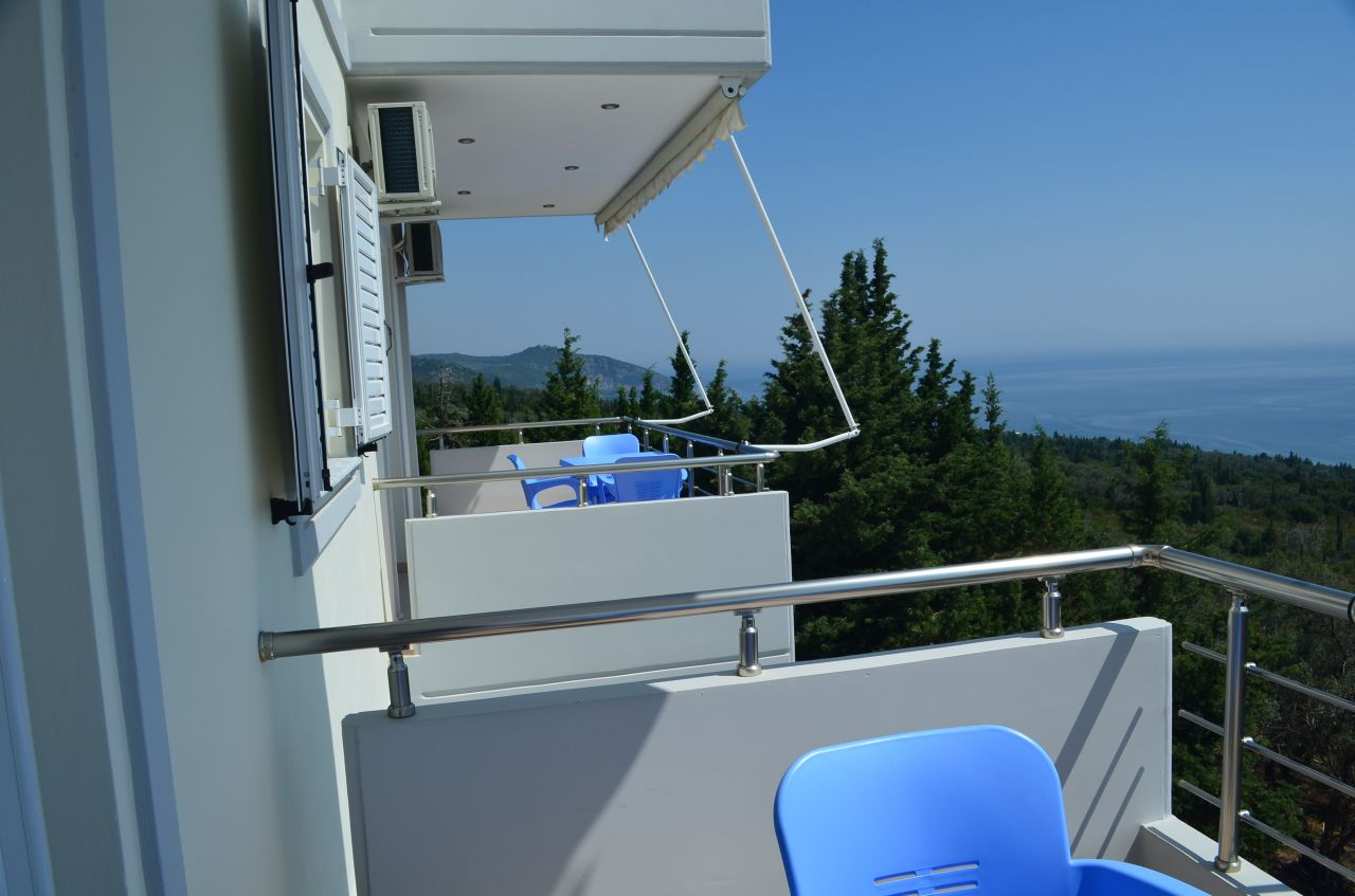 Apartment for rent in Dhermi, in Albanian Riviera, for summer vacations.