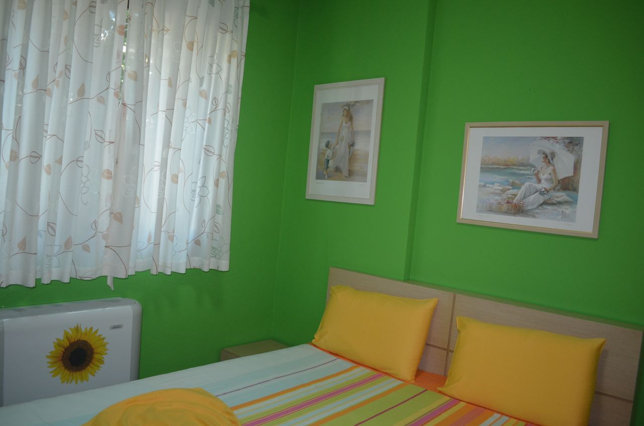 APARTMENT FOR SALE IN DHERMI, ALBANIA. BEAUTIFUL SEAVIEW APARTMENT FOR SALE