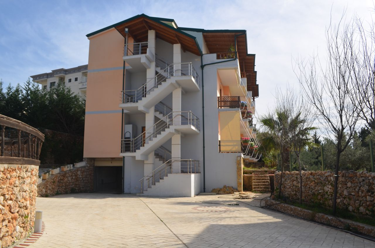 Apartment for Sale in complex with swimming pool. Albanian Riviera, Dhermi, Albania.