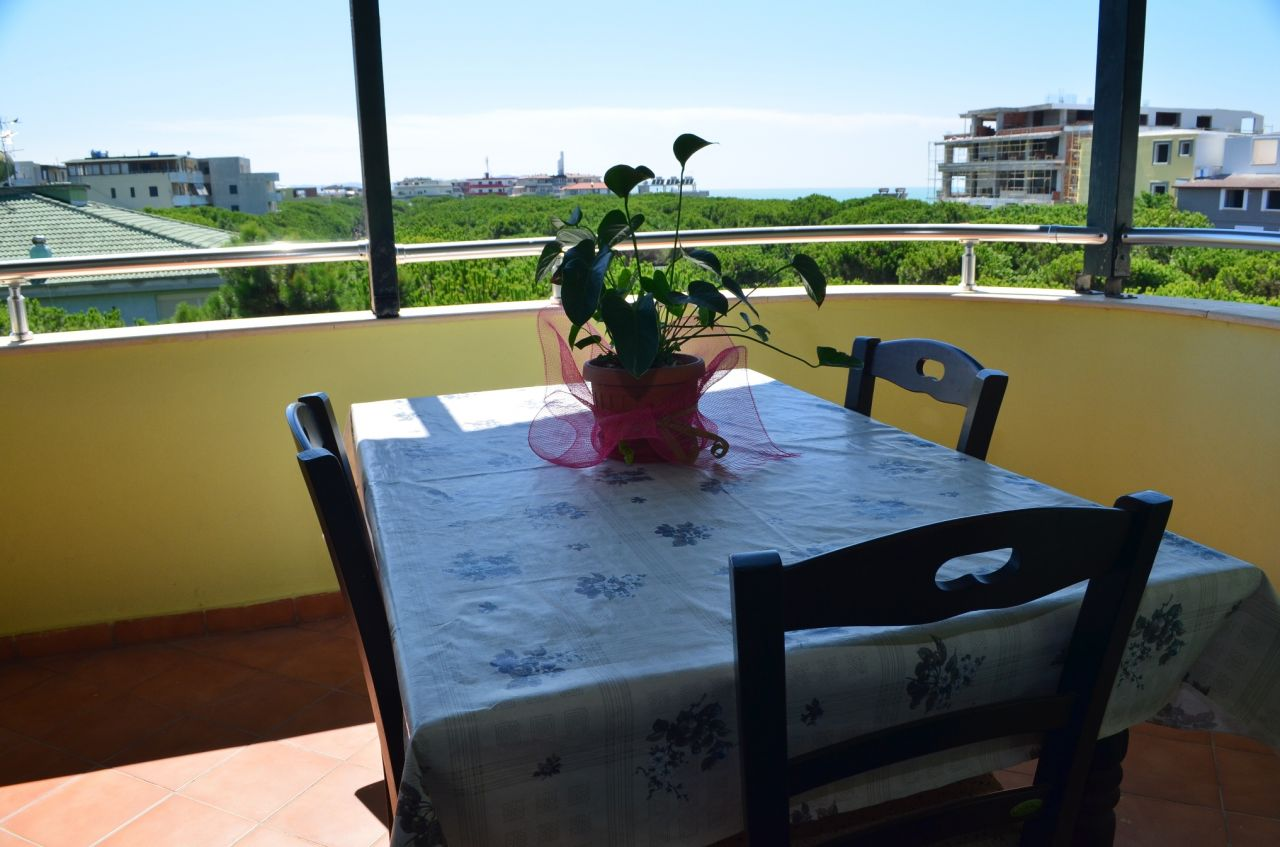 Apartment for holidays for rent next to the beach in south of Durres.