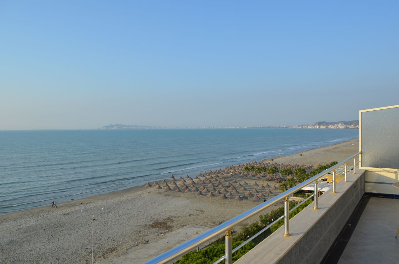 Rent Holiday Apartments in Albania, Durres. Frontline Apartment in Durres Next to the Sea.