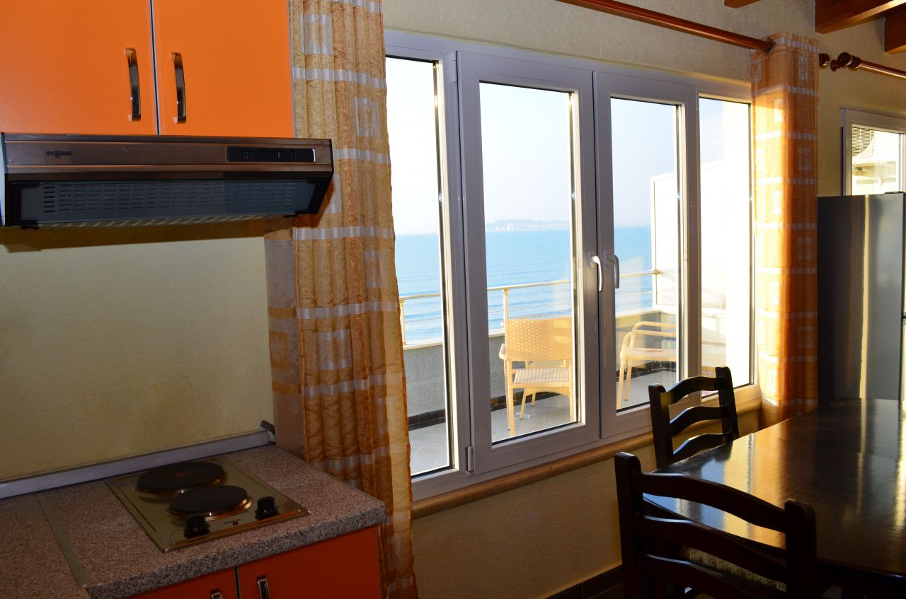 Vacations apartment for rent in Durres, in the Adriatic sea, very close to the beach and to Tirana,  the capital of Albania.