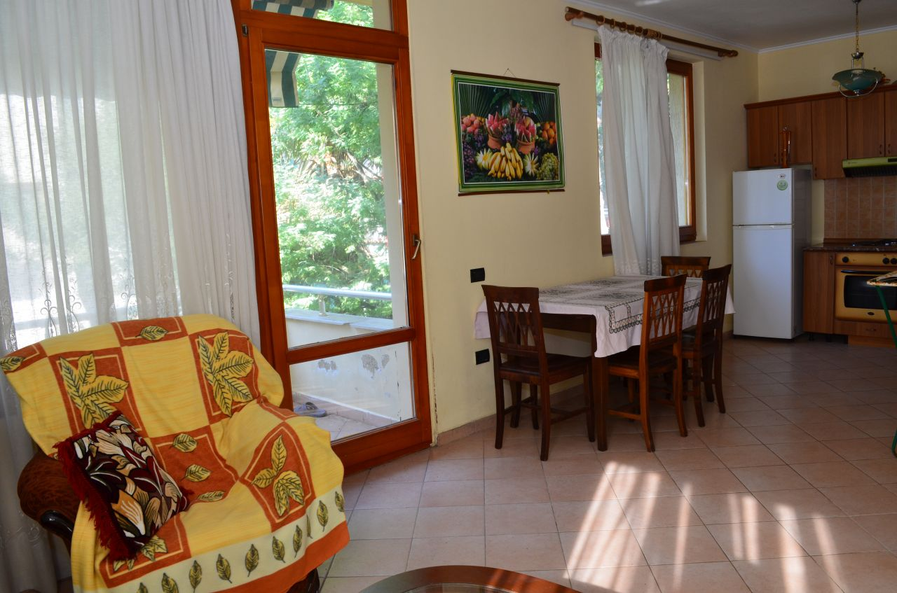 Apartment in a villa in Lalzy Bay, in Durres, for Rent for summer holidays. It is very close to Tirana, and the national airport.