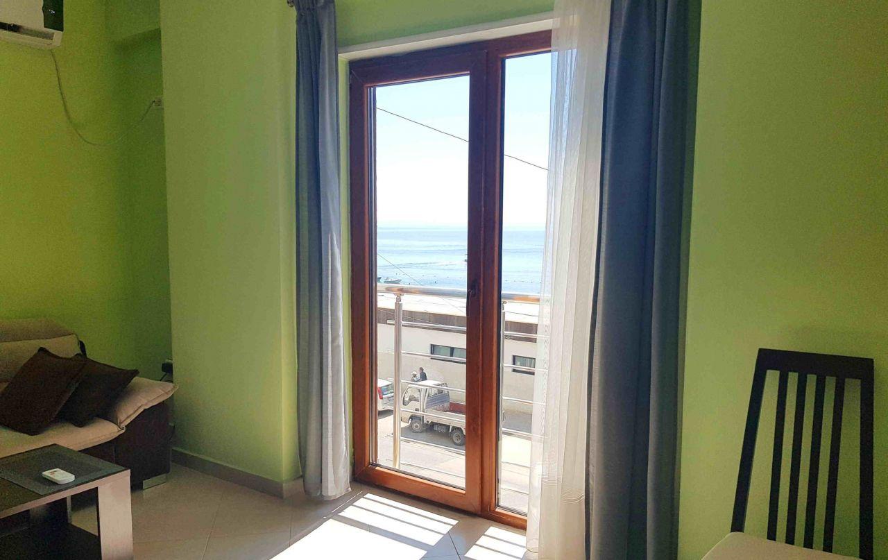 Аренда в Албании, Дуррес. Квартира в Дурресе на берегу моря.