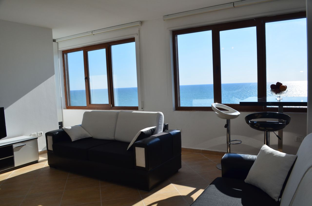 Penthouse for Rent in Albania. Holiday Apartment in Durres