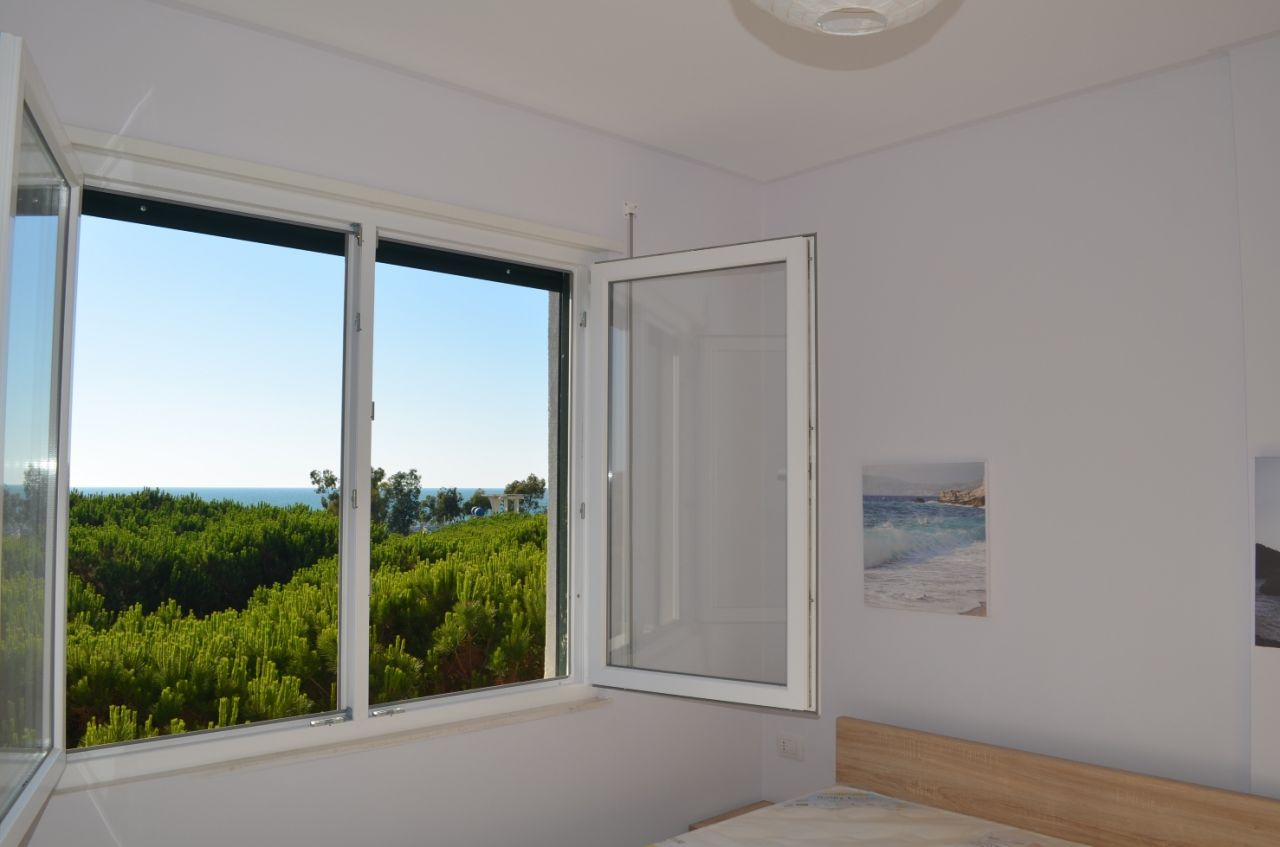 apartment for rent in Durres, sea view apartment for rent in albania