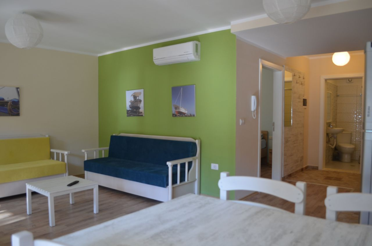 vacation apartments for rent in durres beach. apartments in durres next to sandy beach