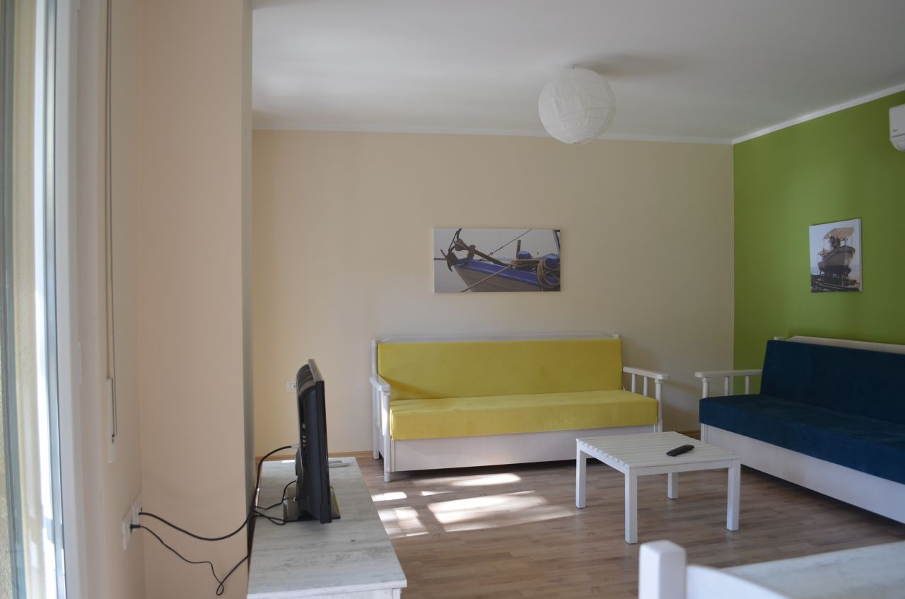 Rezidenca Kalter Durres. Holiday One  Bedroom Apartment in Albania. Apartments for rent in Durres