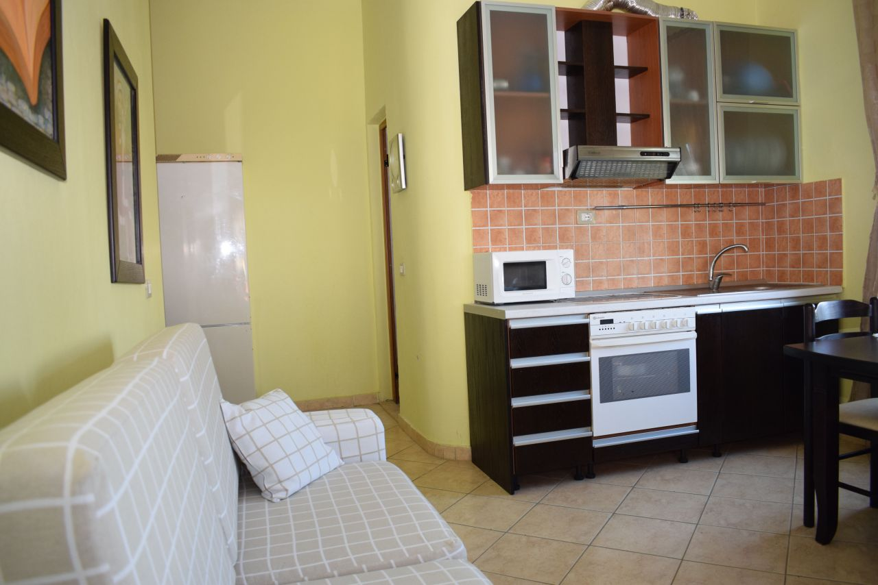 One bedroom apartment for holiday rent in Durres, near the beach