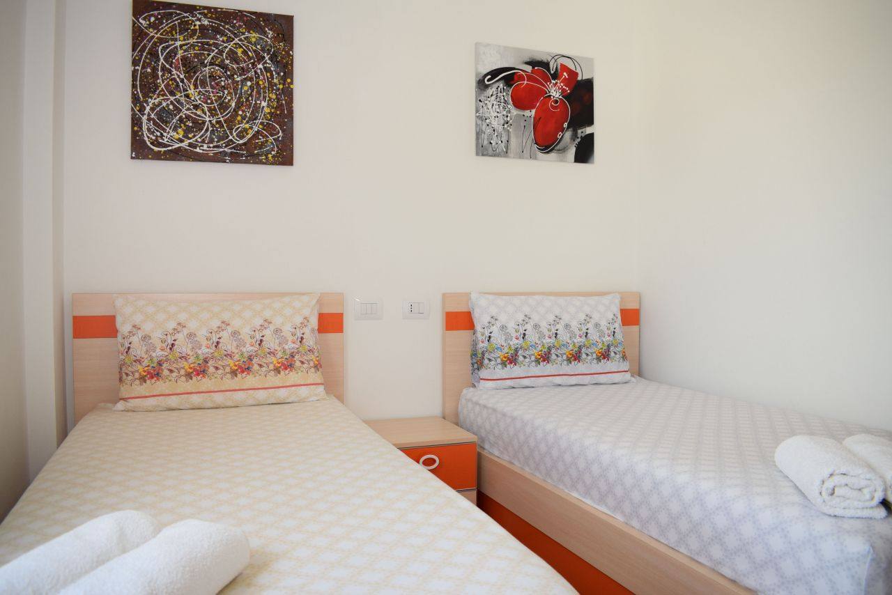 Brand new Holiday Apartment for Rent in Lalzi Bay, Durres