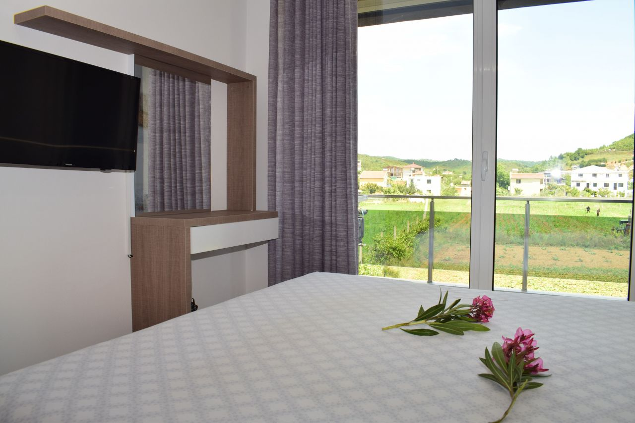 Holiday rental apartment with two bedrooms  in Lalzi Bay, durres
