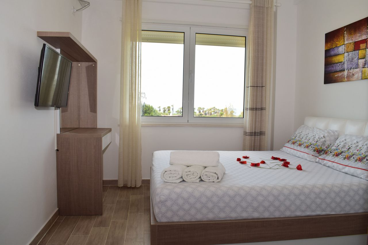 Vacation rental apartment albania gjiri lalzit durres with two bedrooms