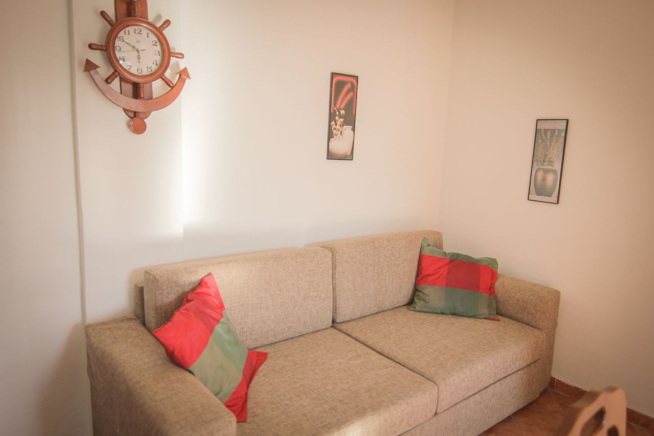 Fully furnished apartment for rent in Durres, for summer vacations in Albania.