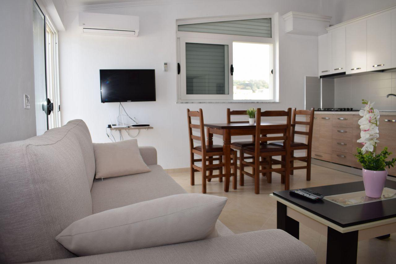 Apartamente me qera ne durres. apartament me pamje nga deti per qera ne Shqiperi