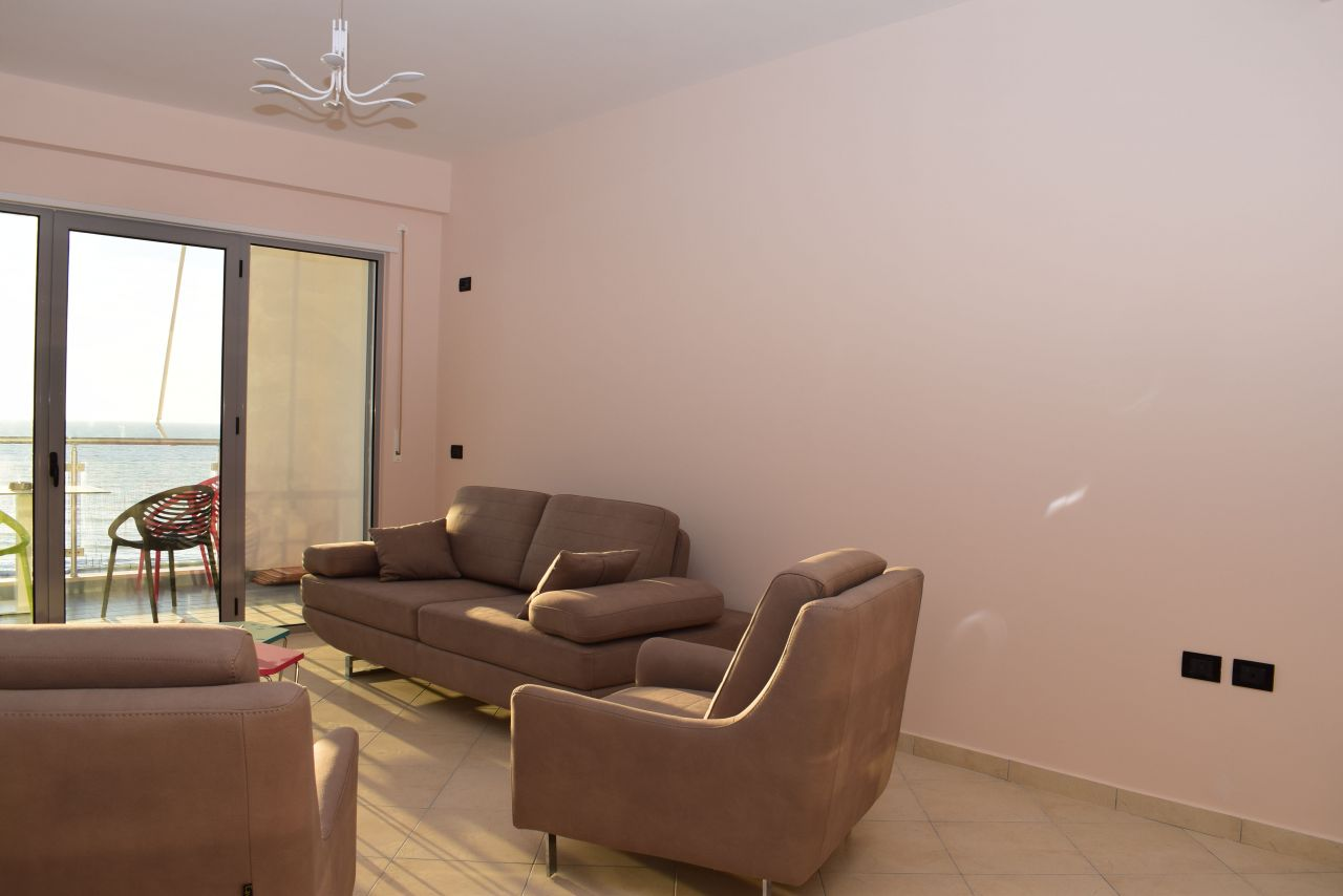 Holiday Apartment with Two Bedrooms for Rent in Durres