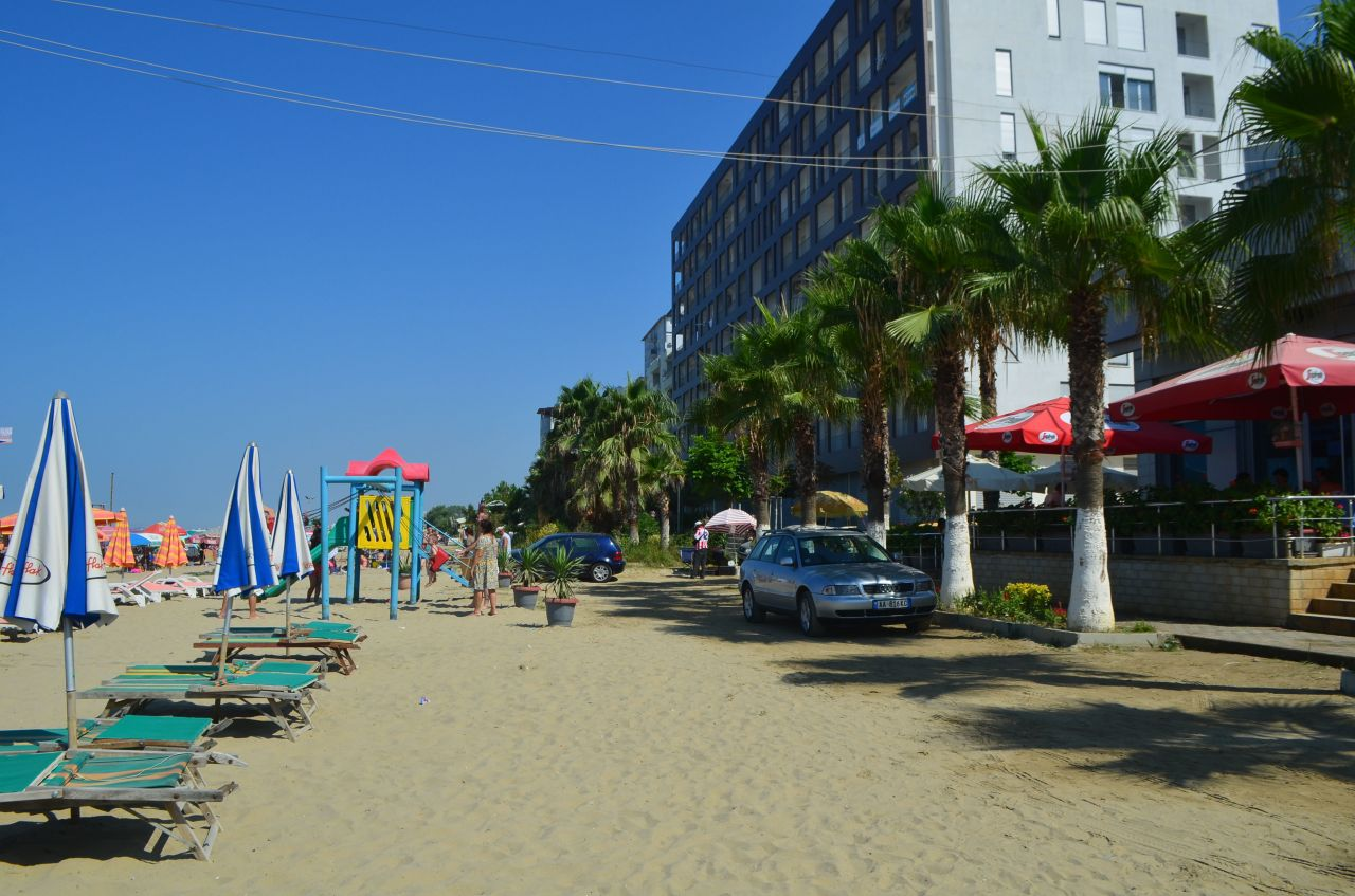 One Bedroom Apartment with Sea View for Rent in Durres