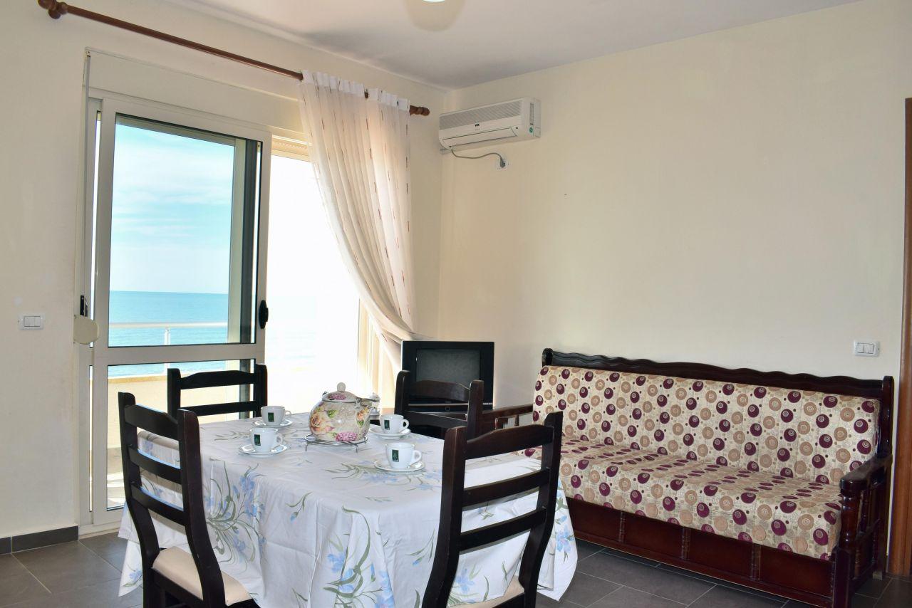 case di vacanze con uno camera da letto in affitto a durazzo vicino al mare