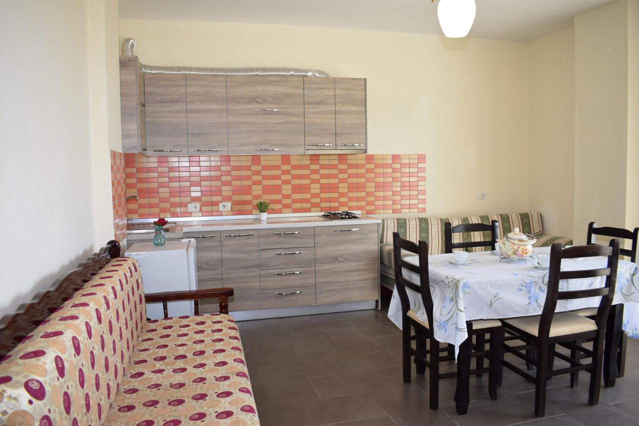 One bedroom apartment for holiday rent in Durres near the beach