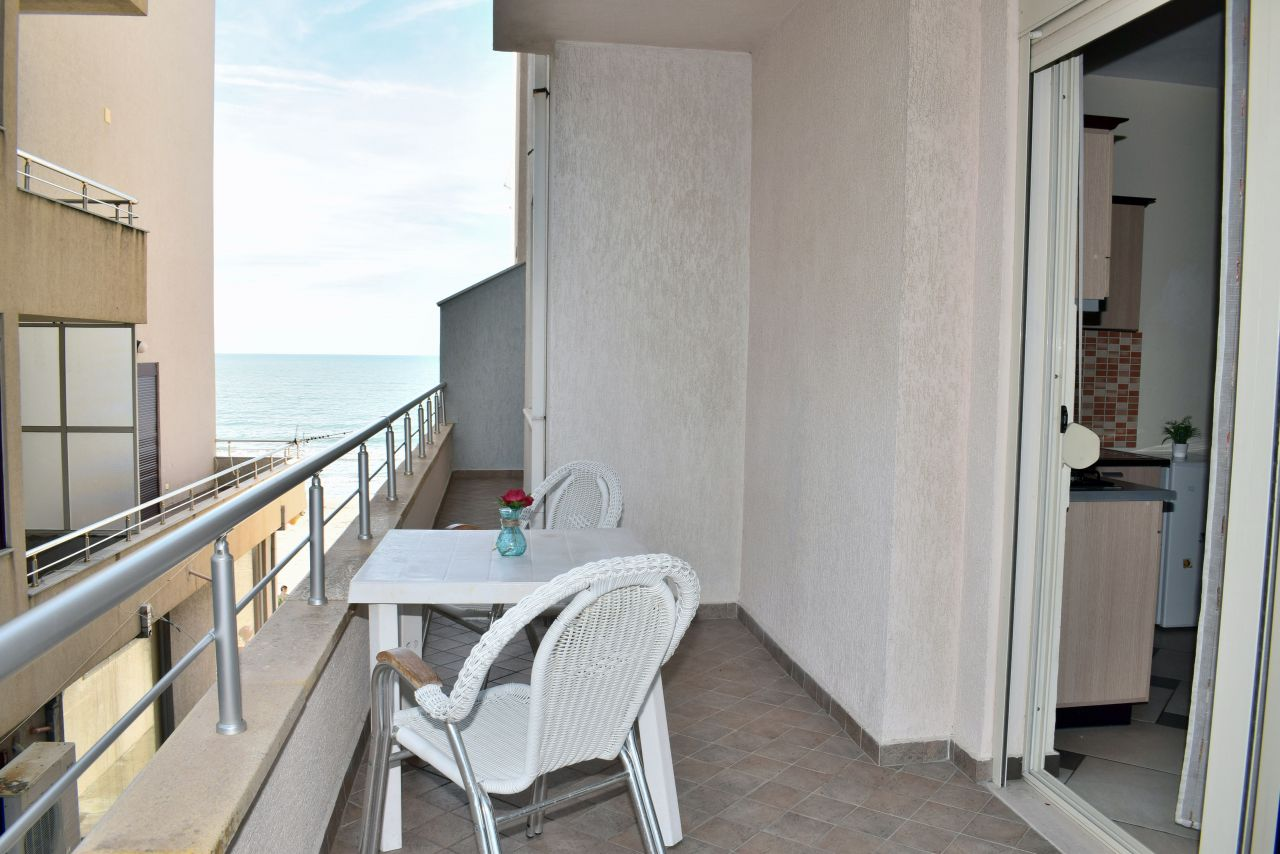 albania rental holiday apartments with one bedroom near the sea in durres