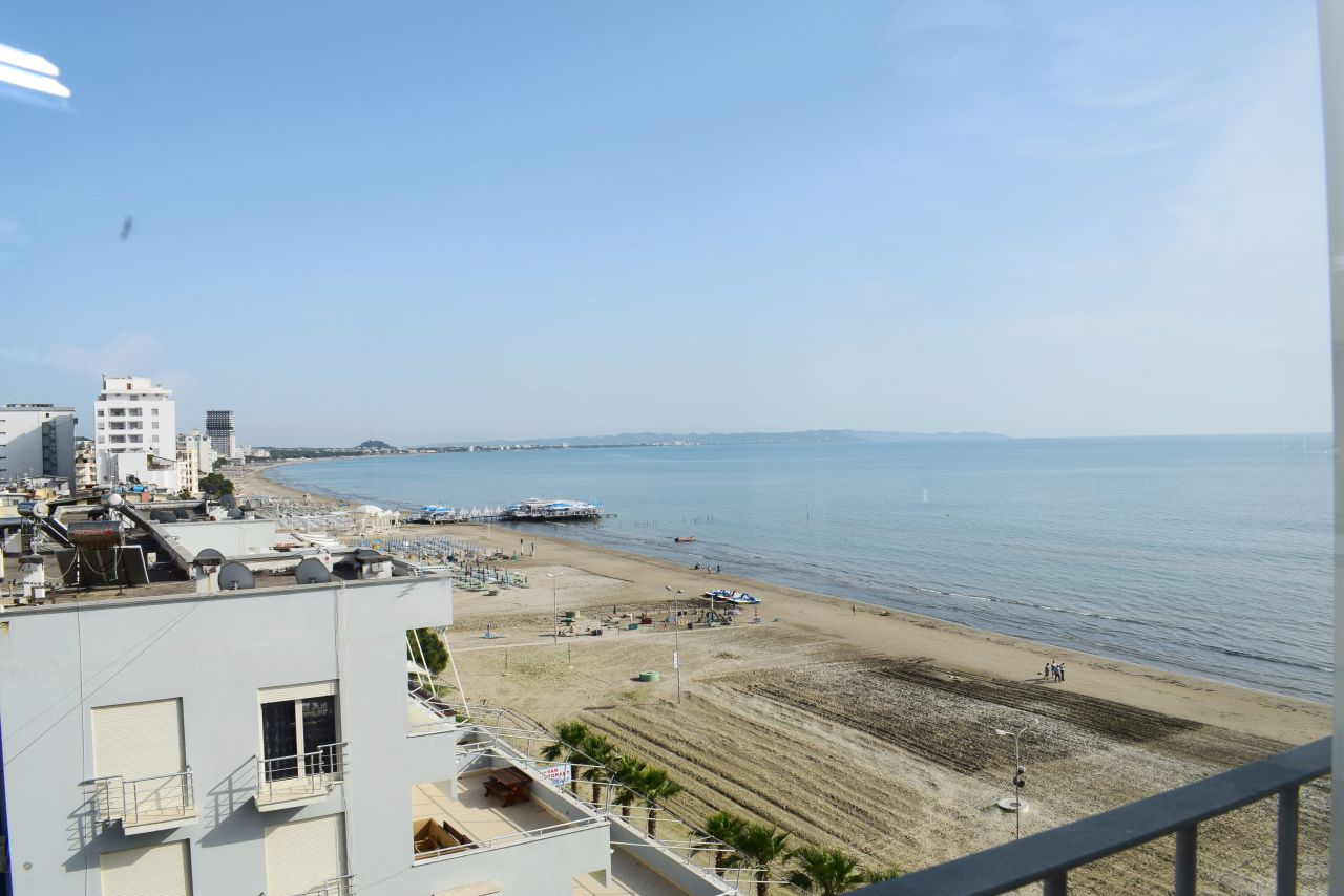 Two Bedroom Apartment with sea View for Rent in Durres