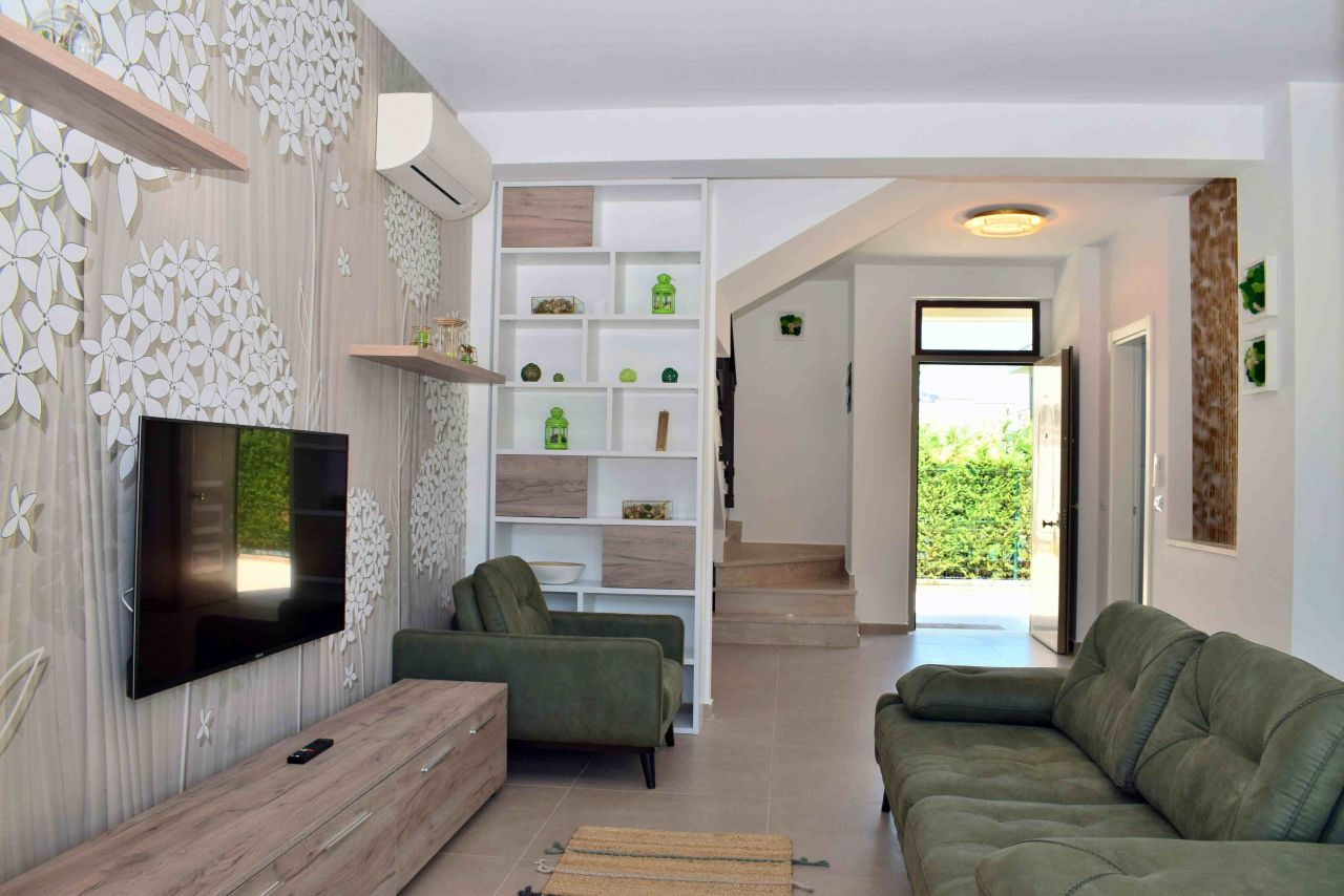 Villa For Rent In Perla Resort At Gjiri I Lalzit With Garden