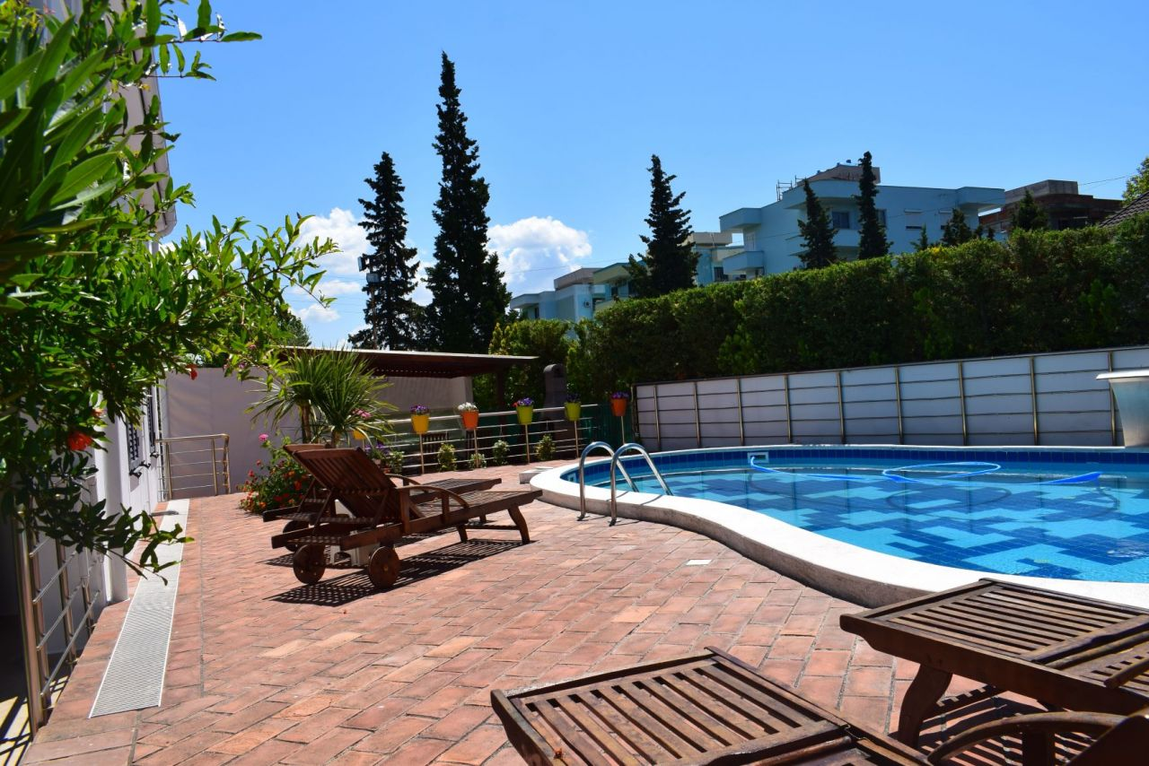 Rent  Vacation Villa With Pool in Golem Holiday Rental Real Estate Albania
