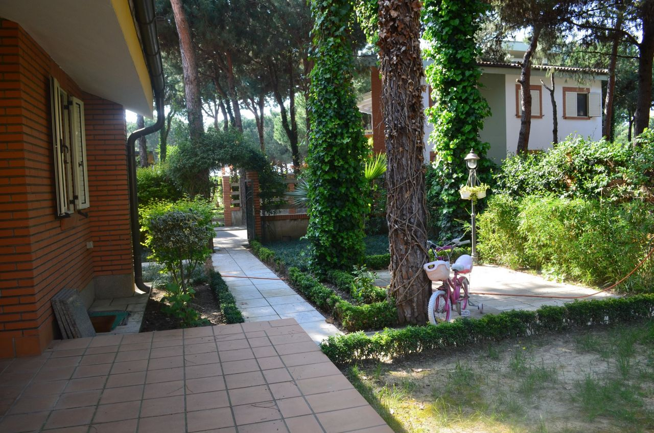Two floors villa for sale in Durres Albania next to the sandy sea