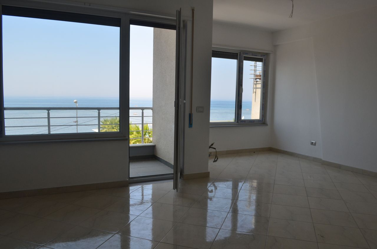 Two bedroom Apartment for Sale in Durres city. Apartment is located in a very quiet area. Wonderful views from the living room to the sea.
