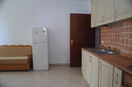 One bedroom apartment for sale in the south of Durres, Albania. The appartment is fully furnished and it is ideal for summer vacations in the Adriatic shore.