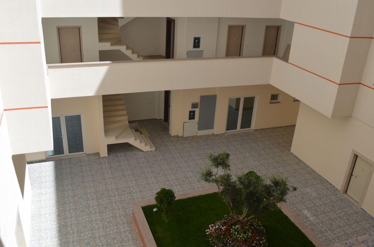 Апартаменты с видом на море в Дурресе