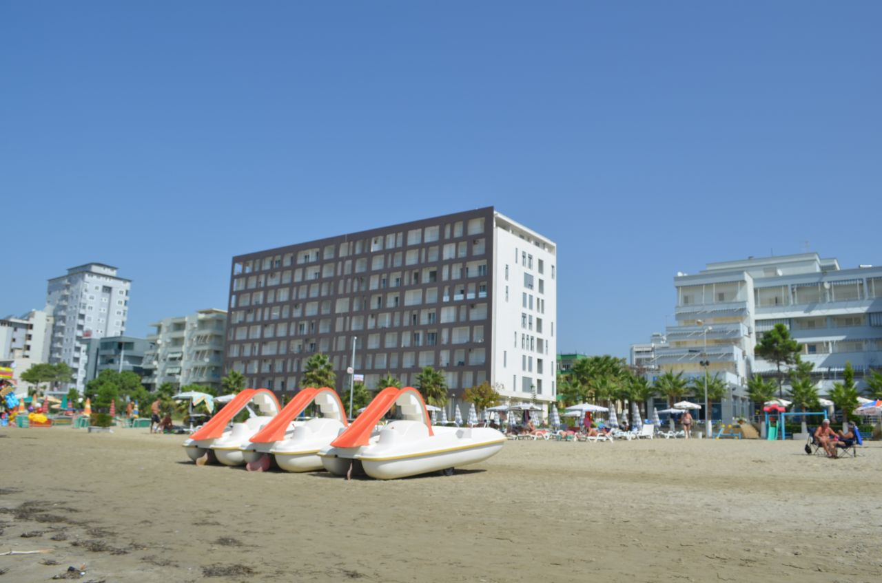 Beachfront Apartments in Albania. Apartments in Durres South Beach