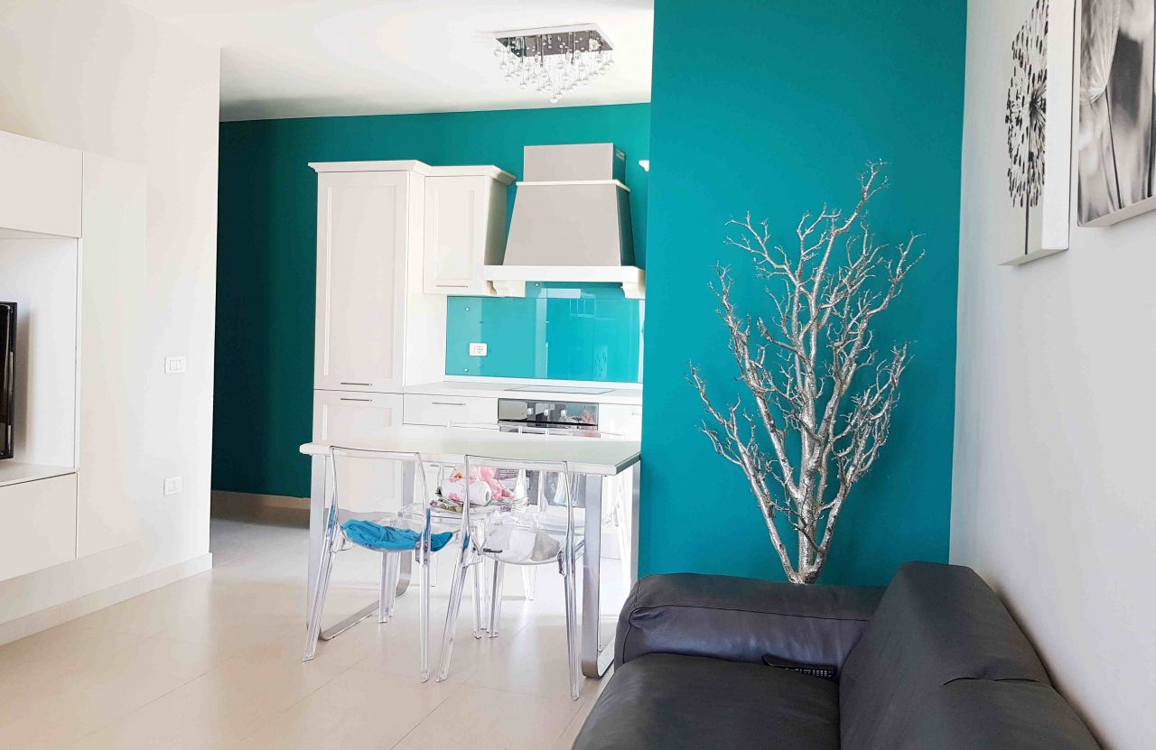 apartments for sale in  Durres next to the sandy beach in Adriatic sea
